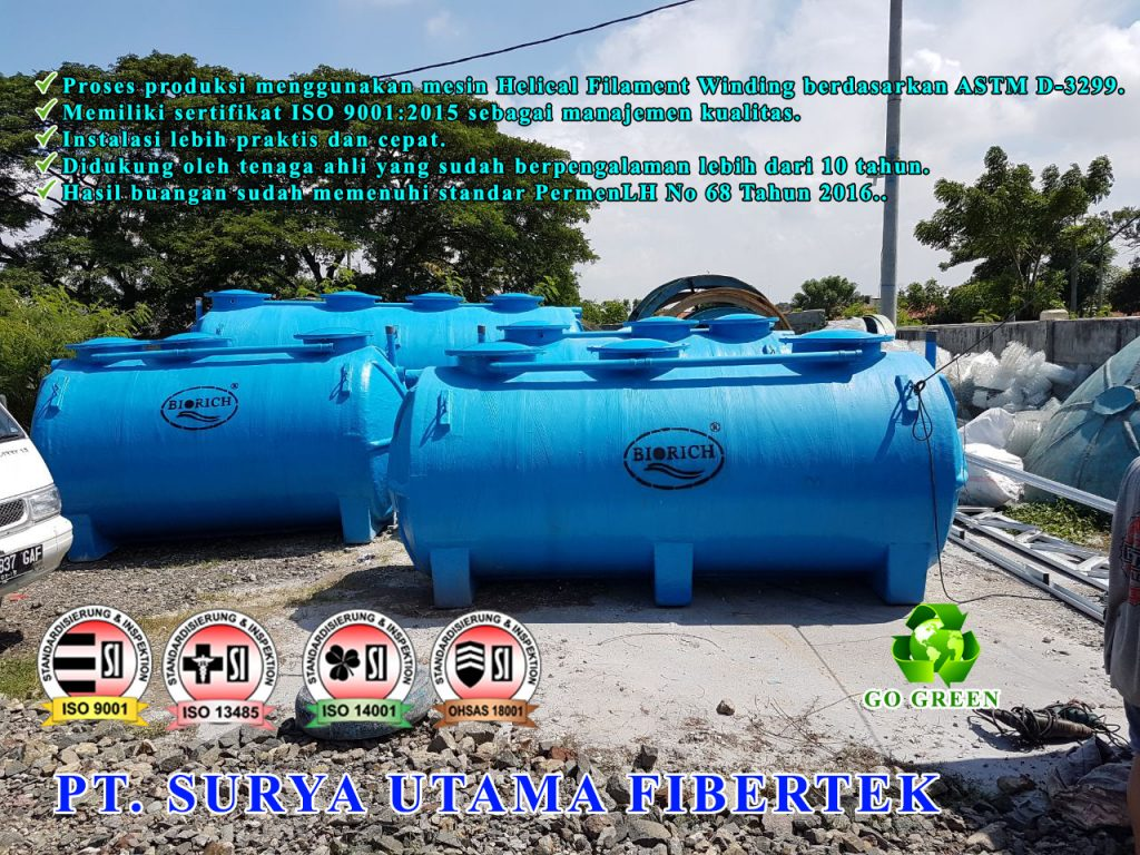 instalasi pengolahan limbah biofilter